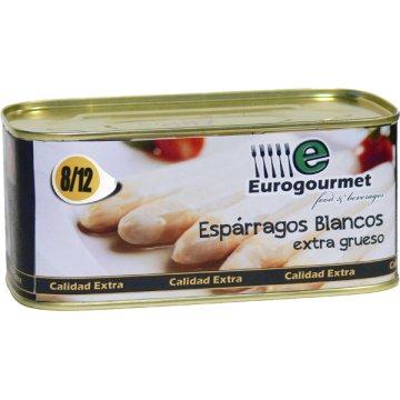 Esparrago Eurogourmet 8/12 Lata