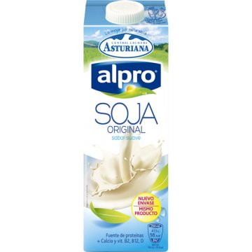 Alpro Soja Natural Calcio Brik Lt
