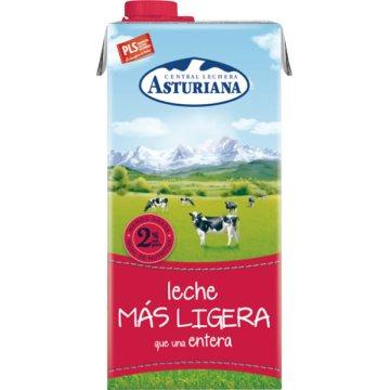 Asturiana Mas Ligera Entera 2%m.g. Brik 1lt