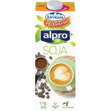 Asturiana Alpro Beguda Soja Hostaleria Brik 1l