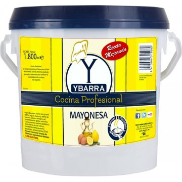 Mayonesa Ybarra Cocina Profesional Cubo 1,8kg
