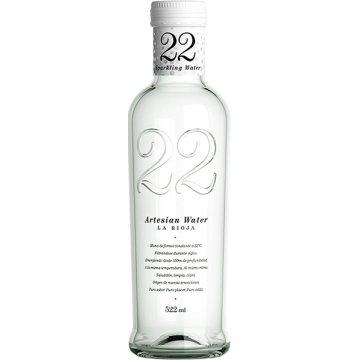 Agua Artesian Water 22 Con Gas 522ml Cristal