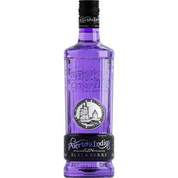 Gin Puerto De Indias Blackberry 70cl