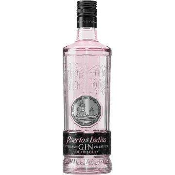 Gin Puerto De Indias Maduixa 70 Cl