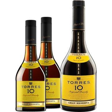 Torres 10 Anys 4 Bot + Torres 10 Magnum 1 Bot Pack