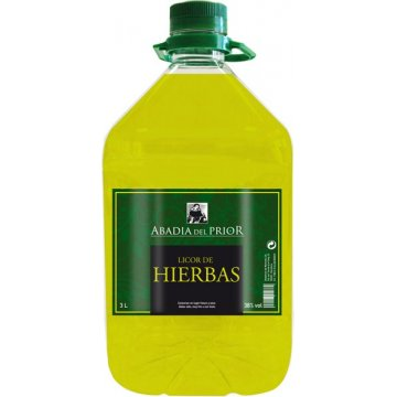 Licor D'herbes Abadia Del Prior 3 Lt