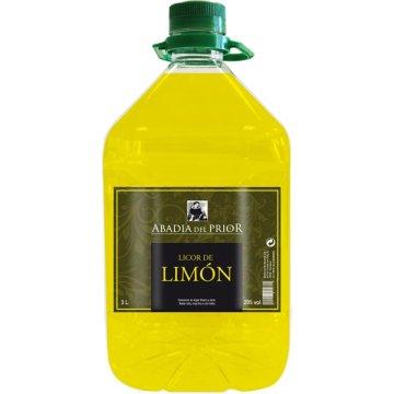 Licor De Limon Abadia Del Prior 3 Lt