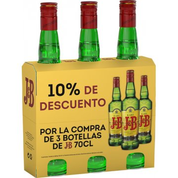 Whisky J&b 70cl Pack 3bot Promocaja 10% Dto