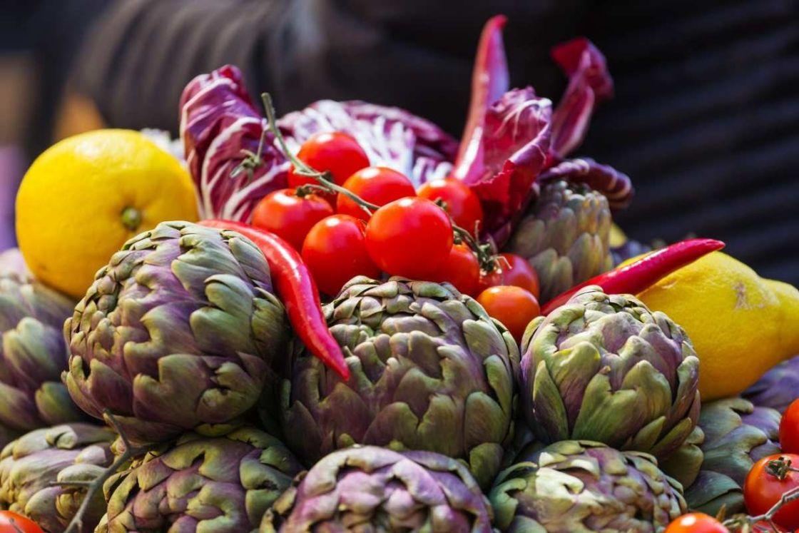 compra de verduras al por mayor
