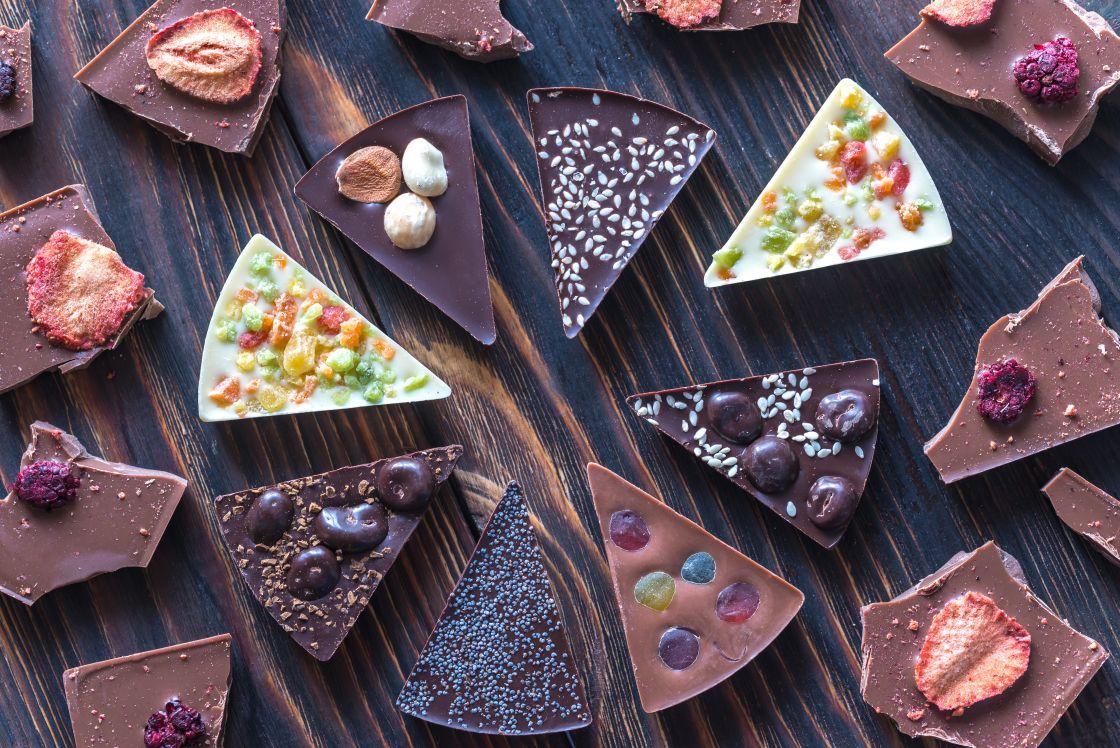 toppings de xocolata